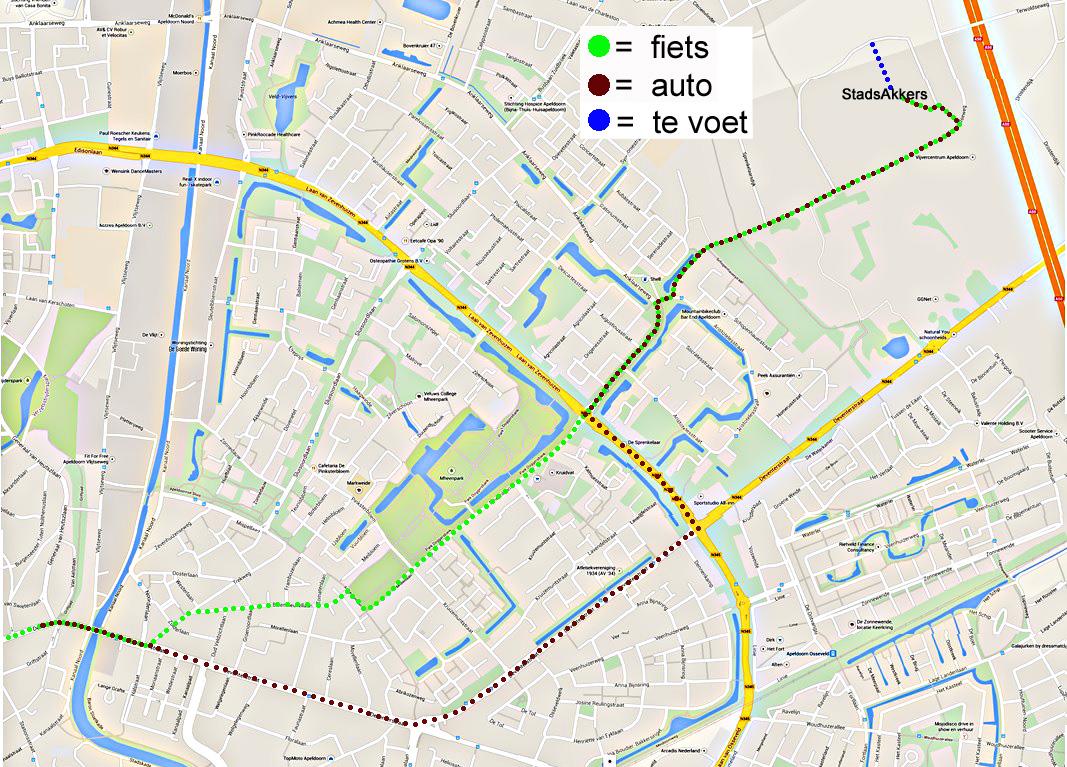 plattegrond-met-route-te-voet-stadsakkers